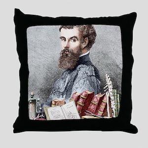 Andreas Vesalius, Belgian anatomist Throw Pillow