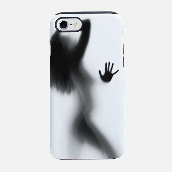 Woman Silhouette iPhone 7 Tough Case