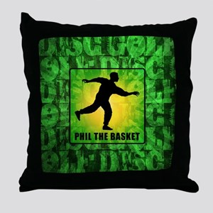 Phil The Basket Throw Pillow