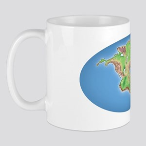 Continental drift after 250 million yea Mug