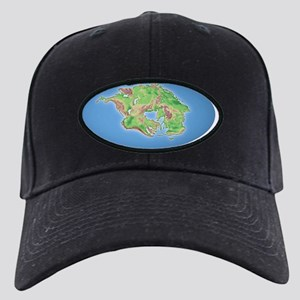 Continental drift after 250 million year Black Cap