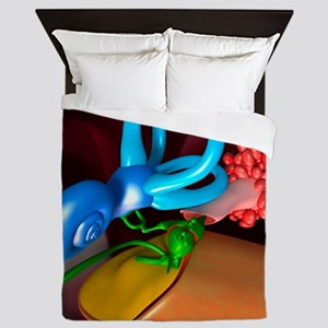 Ear, artwork Queen Duvet
