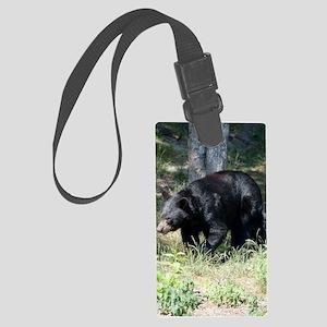 ipadMini_Bear_2 Large Luggage Tag