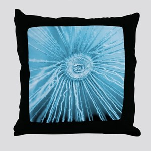 Dandelion pappus, SEM Throw Pillow