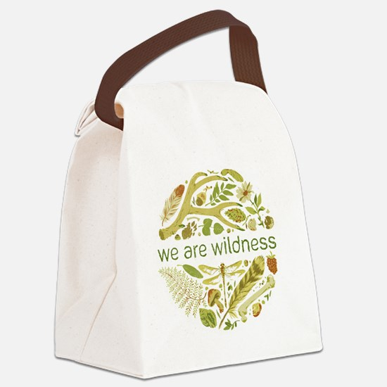 We Are Wildness Canvas Lunch Bag