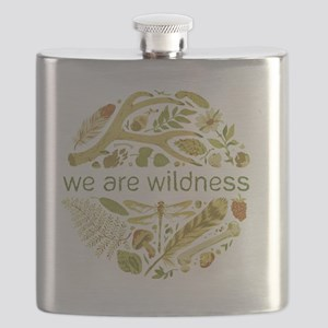 We Are Wildness Flask