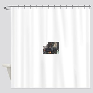 Ready to BBQ with my skillet Shower Curtain