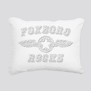 FOXBORO ROCKS Rectangular Canvas Pillow