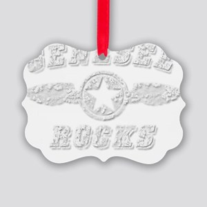 GENESEE ROCKS Picture Ornament