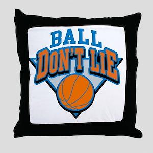 Ball Dont Lie Throw Pillow