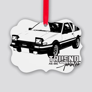 AE-86 Picture Ornament