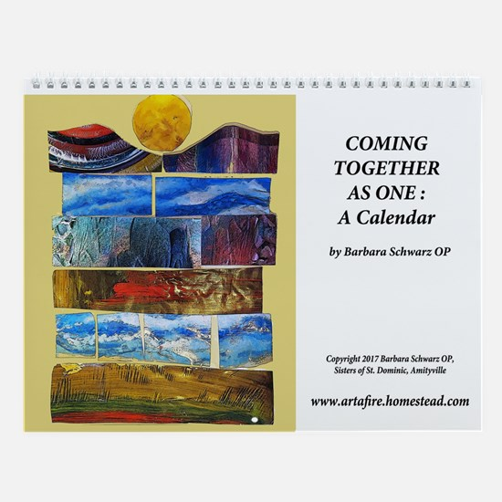 Coming Together As One:wall Calendar