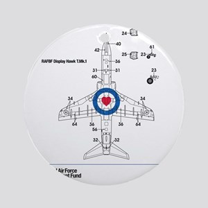 Hawk T MK1 Round Ornament