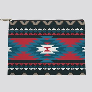 Native Pattern Makeup Pouch