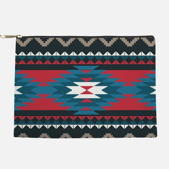 Native Pattern Makeup Pouch