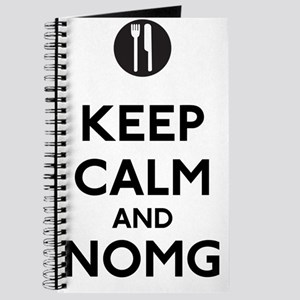 Keep Calm and NOMG Journal