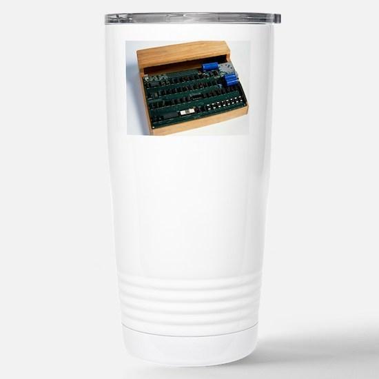 Apple I computer Stainless Steel Travel Mug