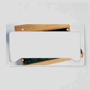 Apple I computer License Plate Holder