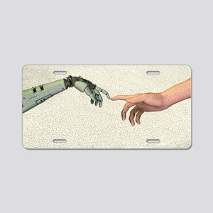 Artificial intelligence, ar Aluminum License Plate