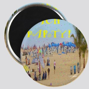 Beach Party Magnet