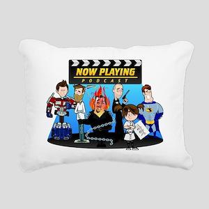 Now Playing Staff - 2012 Rectangular Canvas Pillow