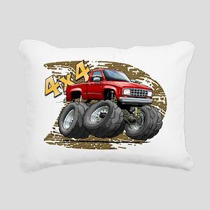 Red_Old_Ranger Rectangular Canvas Pillow