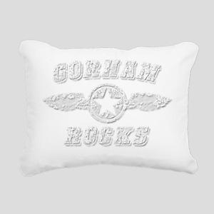 GORHAM ROCKS Rectangular Canvas Pillow