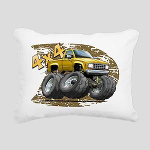 Yellow_Old_Ranger Rectangular Canvas Pillow