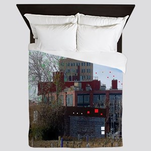 Downtown Asbury Park NJ Queen Duvet
