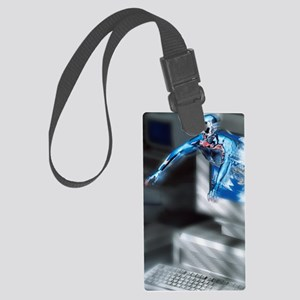 Artificial intelligence Large Luggage Tag