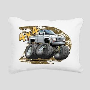 White_Old_Ranger Rectangular Canvas Pillow