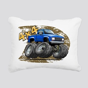 Blue_Old_Ranger Rectangular Canvas Pillow