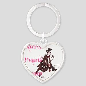 3 Barrels, 2 Hearts, 1 Dream Heart Keychain