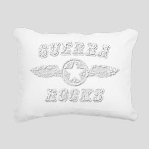 GUERRA ROCKS Rectangular Canvas Pillow