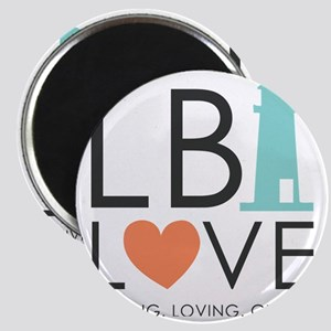 LBI LOVE  Magnet
