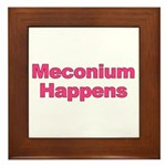 The Meconium Framed Tile