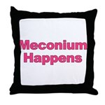 The Meconium Throw Pillow