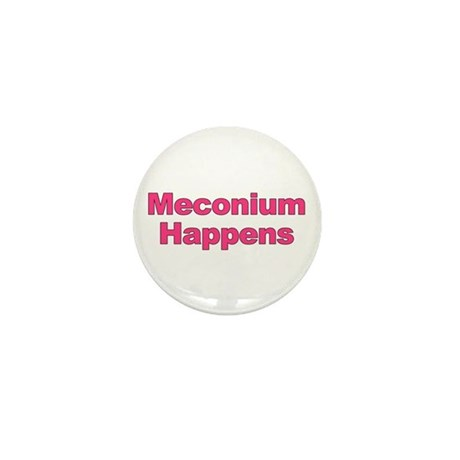 The Meconium Mini Button