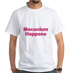 The Meconium White T-Shirt