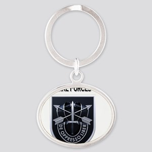 5th Special Forces Group Oval Keychain