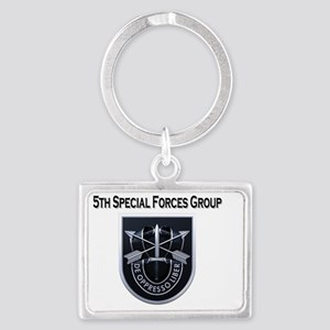 5th Special Forces Group Landscape Keychain