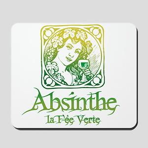 Absinthe Fairy Vintage Mousepad