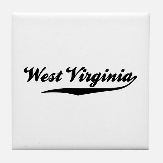 West Virginia Tile Coaster