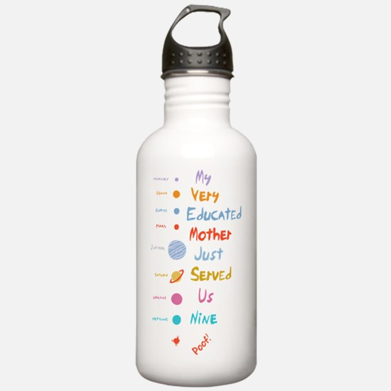 pluto-mnemonic2-T Water Bottle