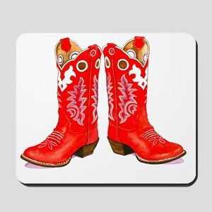 Red Boots Mousepad