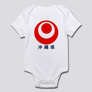 Okinawa-ken logo  Infant Bodysuit