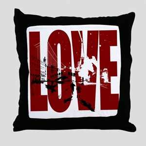 LOVE Design Get The Pix Throw Pillow