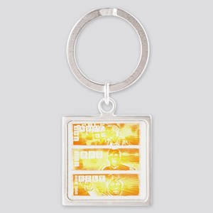 the good, the bad and the ugly Square Keychain