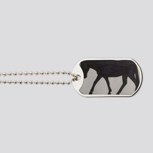 Mule outline Dog Tags
