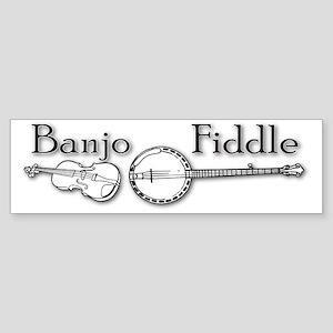 Banjo Fiddle Sticker (Bumper)